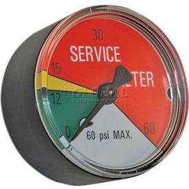 "Apache Filter Indicator Gauge 99019342, 2""L, 0-25 PSI, 1/8"" BM"