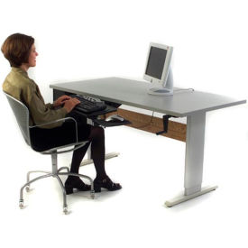 """Accella™ Height Adjustable Activity Table - 48""""L x 36""""W Gray"""