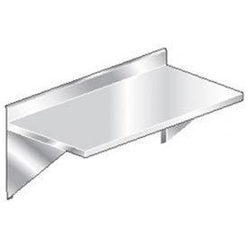 "Aero Manufacturing 3TWMV-3096 96""W x 30""D Wall Mount Table with 4"" Backsplash and Marine Edge"