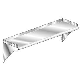 "Aero Manufacturing 3W-1236  36""W x 12""D Deluxe SS NSF Wall Shelf"