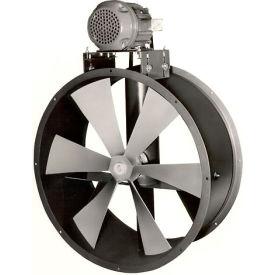 Ventilateur antidéflagrantpour conduit, environnement sec,30 po,3 phases,1 HP