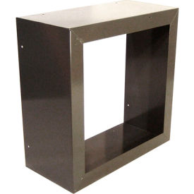 """Fan and Shutter Mounting Box for 36"""" Exhaust Fans"""