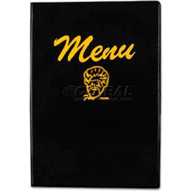 Alegacy 101B - Hard Back Menu Cover, Black