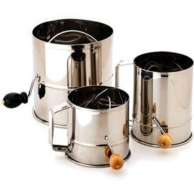 Alegacy 1260 - 3 lb. Stainless Steel Flour Sifter