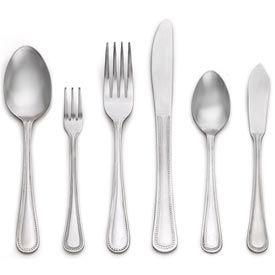 Alegacy 1608 - Salad Spoon, Pebble Pattern