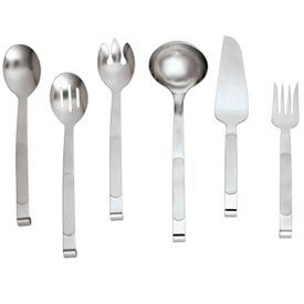 Alegacy 211 - Orbit™ Solid Stainless Steel Serving Spoon - Pkg Qty 12