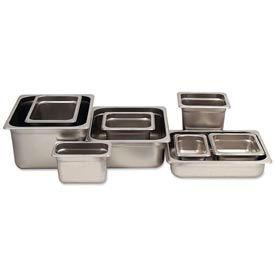 Alegacy 22164 - 2 Qt. 1/6 Size Steam Table Pan Anti-Jam, 22 Ga. - Pkg Qty 12