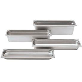 Alegacy 22242L - 4.25 Qt. Half Long Steam Table Pan - Pkg Qty 6