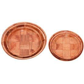 "Alegacy 4909 - Wood Weave Plate, 9"" - Pkg Qty 12"