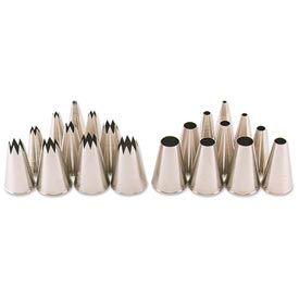 Alegacy 5022T - Plain #2 Stainless Steel Pastry Tubes