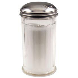 Alegacy 57SP - Sugar Shaker, Plastic, Side Flap, 12 Oz. - Pkg Qty 2