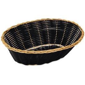 Alegacy 599 - Basket, Oval Black Vinyl - Pkg Qty 6