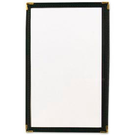 Alegacy 69B - Single Menu Cover, Black - Pkg Qty 24