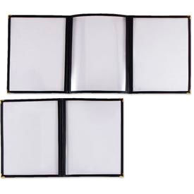 Alegacy 79921 - Double Clear Menu Cover - Pkg Qty 25