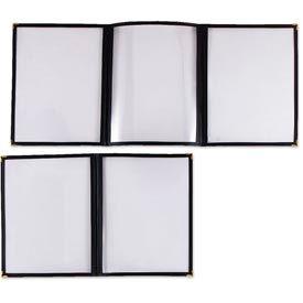 Alegacy 79941 - Triple Clear Menu Cover