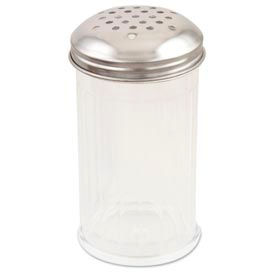 Alegacy 800CSP - 12 Oz. Fluted Plastic Cheese Shaker - Pkg Qty 2