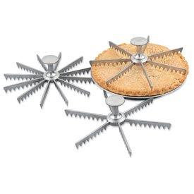Alegacy 8406 - 6 Cut Pie Marker With Knob - Pkg Qty 12