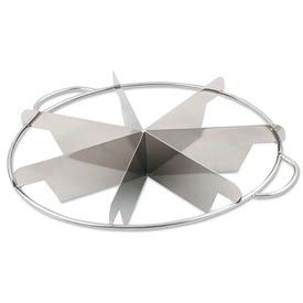 Alegacy 857 - 7 Cut Stainless Steel Pie Cutter