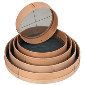"Alegacy 9818RS - 18"" Dia. Wood Rim Sieves"