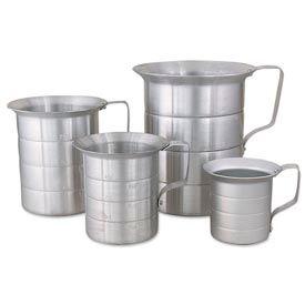 Alegacy ML10 - 1 Qt. Aluminum Liquid Measures