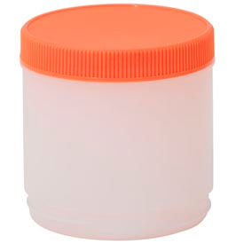 Alegacy PP4OR - Pourer Pint With Cap, Orange - Pkg Qty 12
