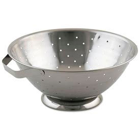 Alegacy R33 - Stainless Steel Footed Colander, 8 Qt. - Pkg Qty 6