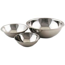 "Alegacy S774 - 4 Qt. Stainless Steel Mixing Bowl 10-3/4"" Dia. - Pkg Qty 12"