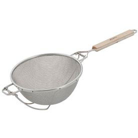 "Alegacy S9150 - Stainless Steel Double Mesh Strainer, 10 1/4"" Heavy Duty - Pkg Qty 6"