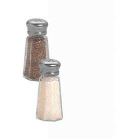 American Metalcraft PNS13 - Salt & Pepper Shaker, 1 Oz., Glass Base, W/Mushroom Top