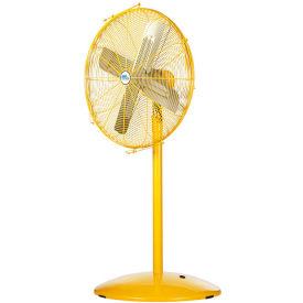 Airmaster Fan DJ-AKF30-2SPH 30 Inch Pedestal Fan, Yellow