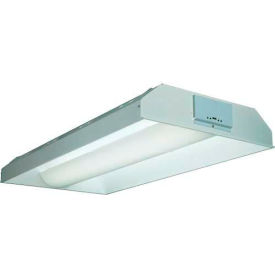 Lithonia 2AV G 2 32 MDR MV GEB10IS T8 Compact Fluor. w/ Grid Trim Lamps 32w Metal Diffuser w/ Holes