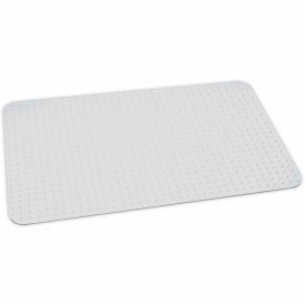 "ES Robbins™ Eco Friendly Office Chair Mat for Carpet - 46""x60"" - Straight Edge"
