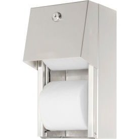 ASI® Surface Mounted Dual Roll Toilet Tissue Dispenser - 0030- Pkg Qty 1