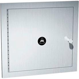 """ASI® 8154 Recessed Specimen Pass-Through Cabinet, 13-1/4""""W x 6""""D x 12-3/4""""H"""