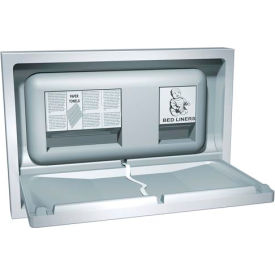 ASI® Recessed Stainless Steel Baby Changing Station - 9013