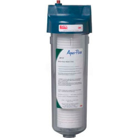 3M Aqua-Pure AP101T, Standard Whole House One-High Transparent Valve-in-Head Filter 3/4 NPT
