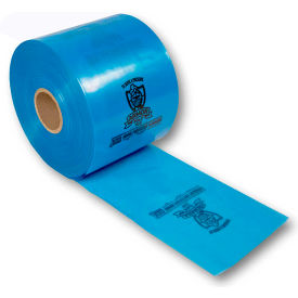 "Armor Poly VCI Tubing 5"" x 1500' 4 Mil Blue Roll"