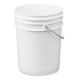 Ropak Round Polyethylene Pail - 5.3-Gal. Capacity
