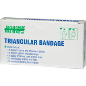 Gauze Dressings - Triangular Bandage 101.6 x 101.6 x 142.2 cm, Compressed