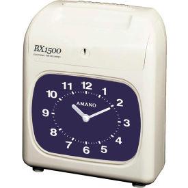 Amano Electronic Time Clock, White, BX-1500/2663