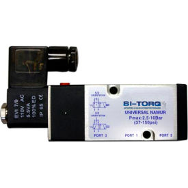 BI-TORQ 120 VAC NAMUR solenoid valve; NEMA 4