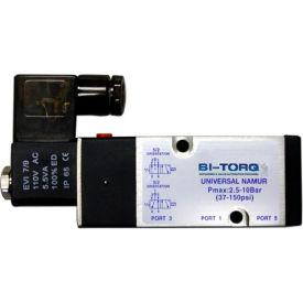 BI-TORQ 220 VAC NAMUR solenoid valve; NEMA 4