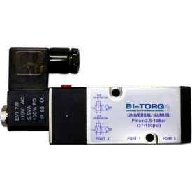 BI-TORQ 120 VAC NAMUR solenoid valve; NEMA 7