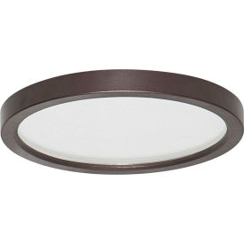 Amax Lighting LED-SM55DL/BZ LED Slim Disk, 9W, 3000 CCT, 580 Lumens, 80 CRI, Bronze