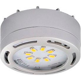 Amax Lighting LEDPL1-NKL LED Puck Light, 4W, 3000 CCT, 360 Lumens, 82 CRI, Nickel