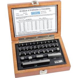 Fowler 53-672-036 Shop-Blox Rectangular Gage Block Set - 36 Piece