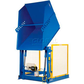 Electric Powered Hydraulic Lift Box & Container Dumper HBD-2-48