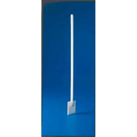 "Bel-Art HDPE Stirring Paddle 377700000, 3 ft. Handle, 3"" x 6"" Paddle, White, 1/PK"