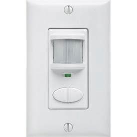 Lithonia WSX 2P WH Wall Switch Decorator Sensor - Passive Infrared (Pir), 2-Pole: White