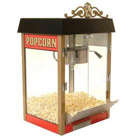 BenchMark USA 11040 Street Vendor Popcorn Machine 4 oz Red 120V 980W
